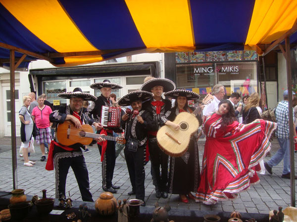 mexicaanse thema feest